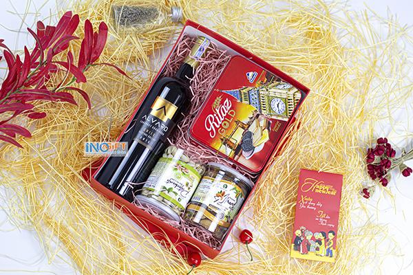 Giỏ quà tết ý nghĩa với mẫu quà đẹp độc lạ sang trong cho khách hàng