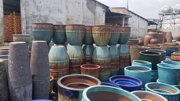 Xưởng sản xuất chậu gốm sứ bình dương giá rẻ