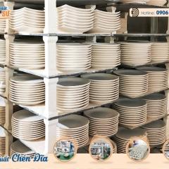 Xưởng sản xuất chén đĩa số lượng lớn