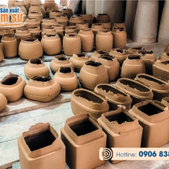 Sản xuất gốm sứ theo yêu cầu in logo lên sản phẩm