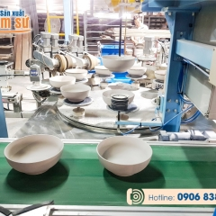 Xưởng sản xuất chén đĩa in logo