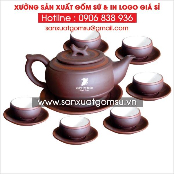 Bình trà tử sa bát tràng xuất khẩu - Xưởng sản xuất bình trà tử sa bát tràng tại Sóc Trăng
