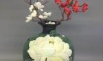 Bình hút tài lộc bát tràng có nên cắm hoa không ? cắm hoa gì hợp phong thuỷ ?