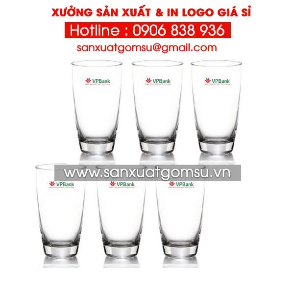 Xưởng in hình lên bộ ly cốc thủy tinh đẹp giá rẻ tại tphcm