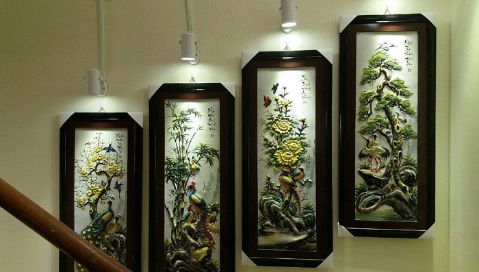 Quà tặng chậu cây gốm sứ in logo - xưởng sản xuất gốm sứ Bát Tràng